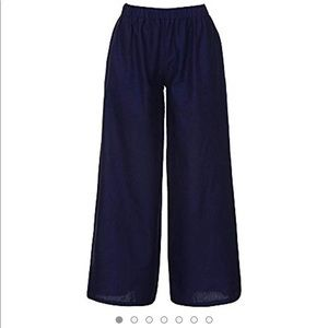 Women's wide leg trousers pants